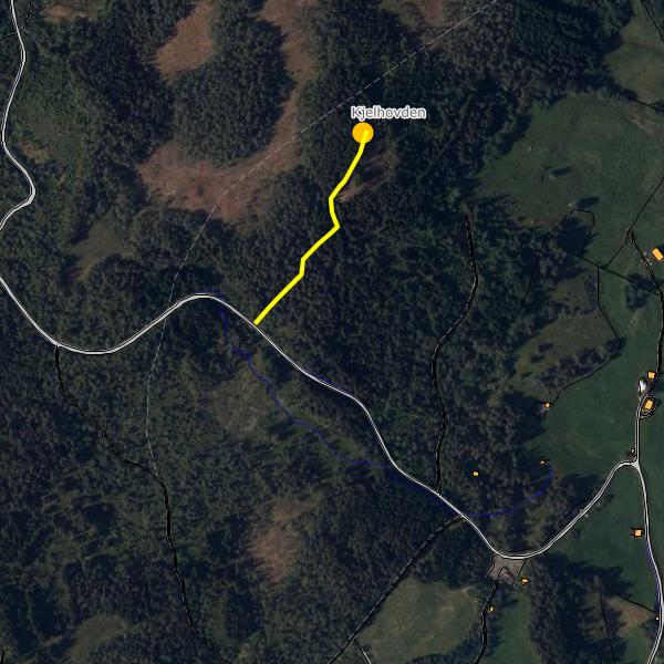 Kart Villmarksgruppa Voss Barnehage